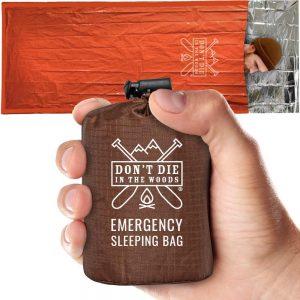 Don't Die In The Woods Emergency Sleeping Bag