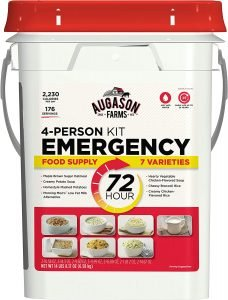 Augason Farms 5-20100 72-Hour 4-Person Emergency Food Storage Kit