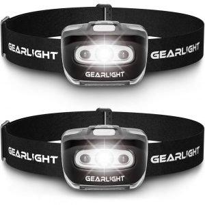 GearLight LED Headlamp Flashlight Best Survival Tools