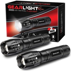 GearLight S1000 Best AAA Flashlight