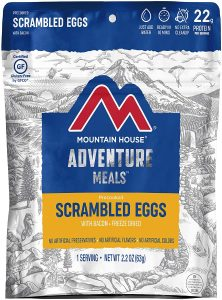Mountain House Scrambled Eggs with Bacon