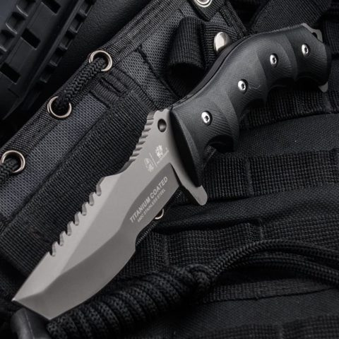 HX Outdoors Fixed Blade Tactical Knives with Sheath