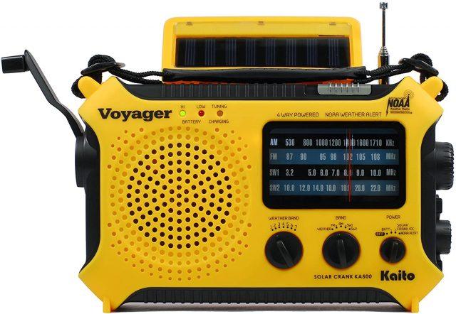 Kaito KA500 5-way Powered Radio