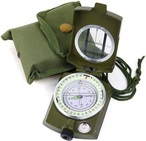 Sportneer Military Lensatic Sighting Compass